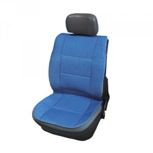 Husa auto pentru scaun, VGT, Jeans, albastru, 109 x 50 cm