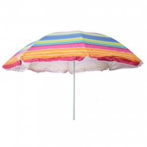 Umbrela soare pentru terasa D12609 rotunda structura metal multicolor D 200 cm/8