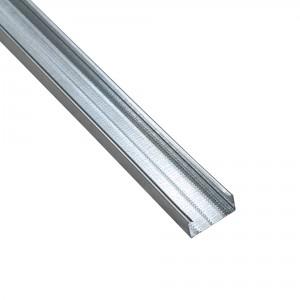 Profil special gips carton Rigips, din tabla zincata, Rigiprofil CD 60 x 28 x 2600 mm
