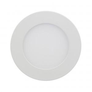 Spot LED incastrat Hoff, 12W, lumina neutra, alb, D170 mm
