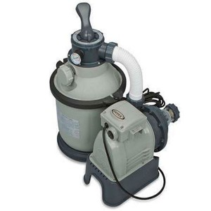 Dedeman pompa filtrare apa piscina intex 56686 28644 filtru cu nisip 4 mc h dedicat - Pompa piscina intex ...