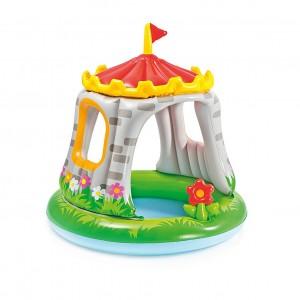 Piscina gonflabila Intex Castle Baby 57122NP, pentru copii, 122 x 122 cm