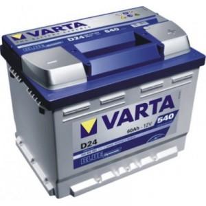 Baterie auto Varta Blue Dynamic 12 V, 60 Ah 540 A, 24.2 x 17.5 x 19 cm