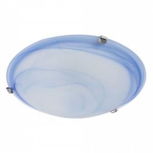 Plafoniera Virginia 05-392, 2 x E27, albastru, D400 mm