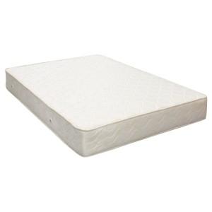 Saltea pat Viscotex superortopedica, 1 persoana, cu spuma poliuretanica, cu arcuri, 125 x 190 cm