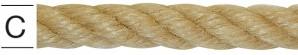 Franghie din canepa 12 mm
