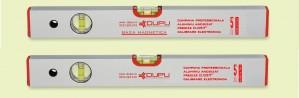 Nivela cu bula, magnetica, Level Instruments 452100, cu 2 indicatori, din aluminiu