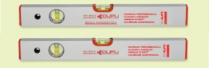 Nivela cu bula, Level Instruments 452120, cu 2 indicatori, din aluminiu