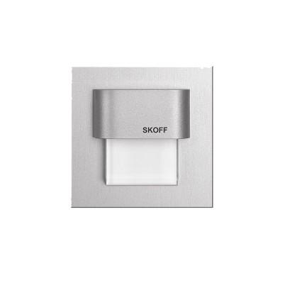 Spot LED incastrat Tango Mini Skoff, 0.40W, aluminiu - alb