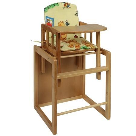 Scaun + masa copii, din lemn, 88 cm