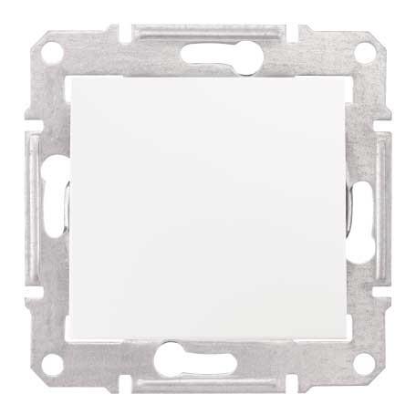 Intrerupator cap scara simplu Schneider Electric Sedna SDN0400421, incastrat, alb