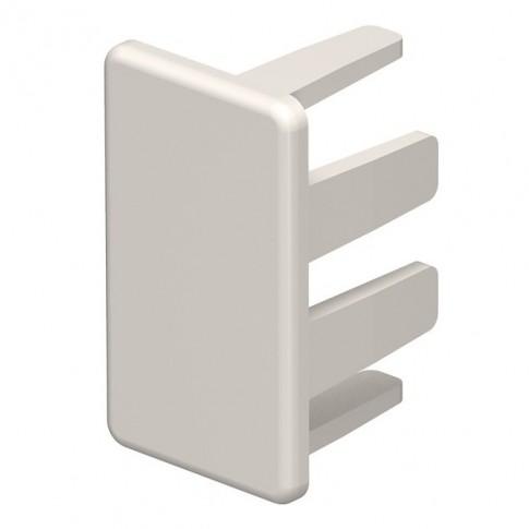 Piesa capat 6162517, 15 x 30 mm, alb crem