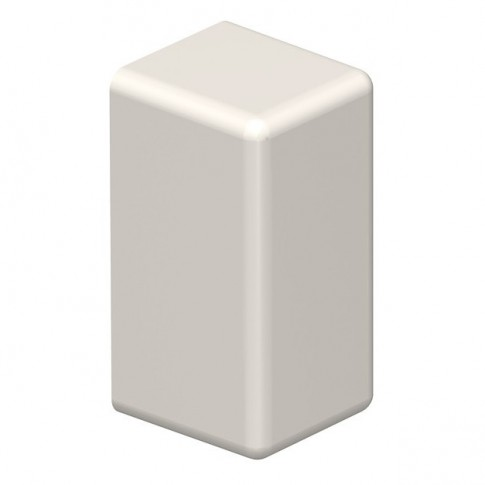 Piesa capat 6153593, 10 x 20 mm, alb crem