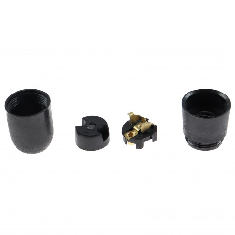Dulie E14 plastic termorezistent, ignifugat, FCM II 2214