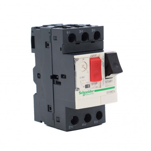 Disjunctor motor Schneider Electric TeSys GV2ME14, termo-magnetic, 3 poli, 6 - 10 A