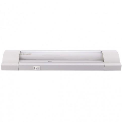 Corp iluminat fluorescent Lohuis, 1 x 14W, aparent, IP40, alb