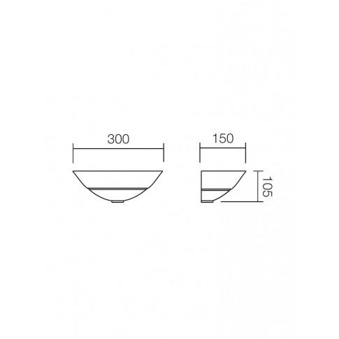 Aplica Greca 05-192, 1 x E27, maro