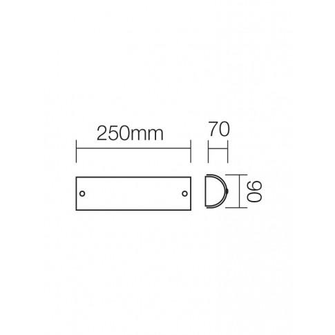 Aplica Gut 05-196, 1 x E14, crom
