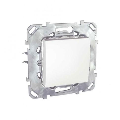 Intrerupator cap scara simplu Schneider Electric Unica MGU50.203.18Z, incastrat, alb