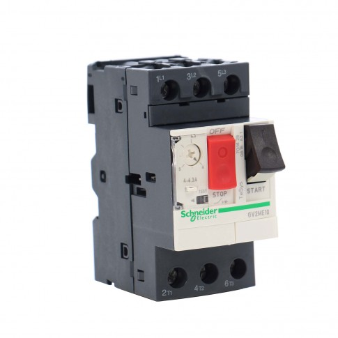 Disjunctor motor Schneider Electric TeSys GV2ME10, termo-magnetic, 3 poli, 4 - 6.31 A