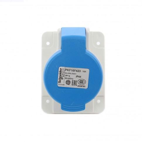 Priza industriala incastrata Schneider Electric PKF16F423, 3P 16A 230V