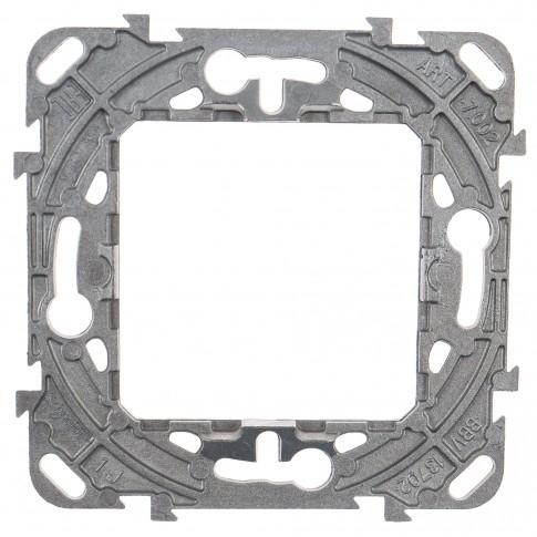 Suport zamac Schneider Electric Unica MGU7.002, 2 module, pentru rama priza / intrerupator