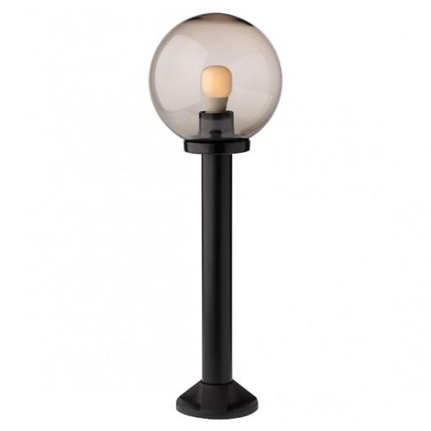 Stalp de iluminat ornamental Sfera 2 9779, 75 cm, fumuriu