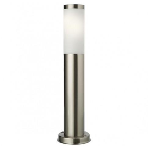 Stalp de iluminat ornamental Colonna 9013, 1 x E27, 45 cm, inox