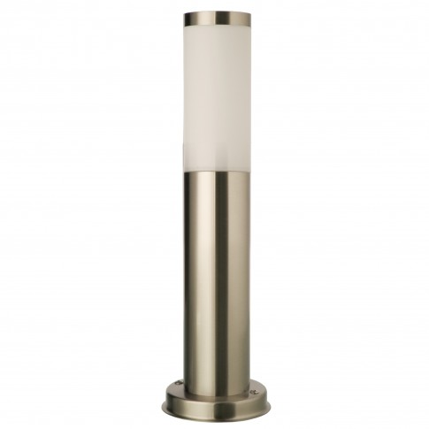 Stalp de iluminat ornamental Colonna 9013, 1 x E27, H 45 cm, inox