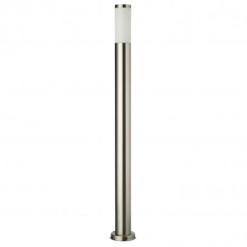 Stalp de iluminat ornamental Colonna 9021, 1 x E27, H 110 cm, inox