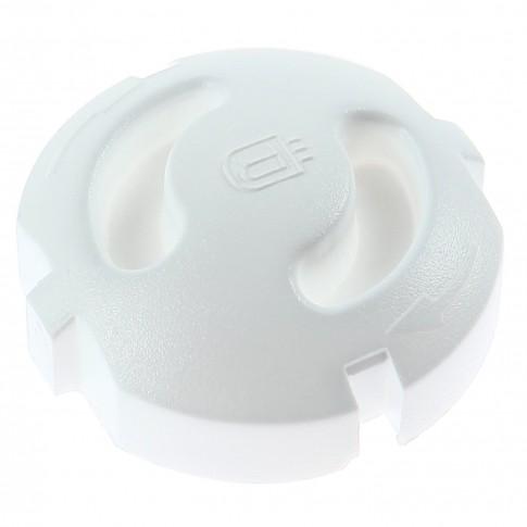 Accesoriu de protectie prize, plastic, 1 modul, set 5 bucati