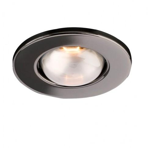 Spot incastrat FR 50 70051, E14 / R50, negru