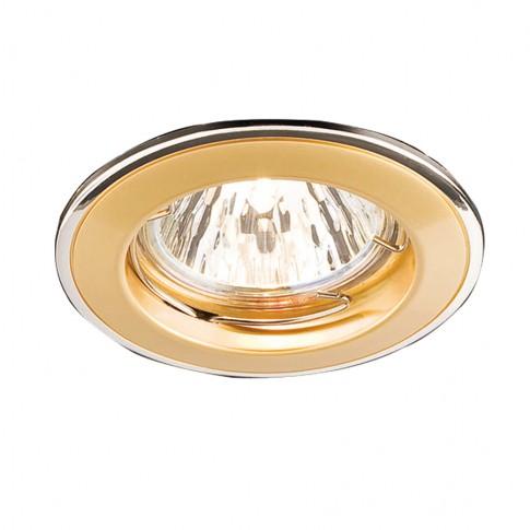 Spot incastrat ELC 146 70013, GU5.3, perla argint / aur