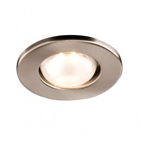 Spot incastrat FR 50 70049, E14 / R50, nichel mat