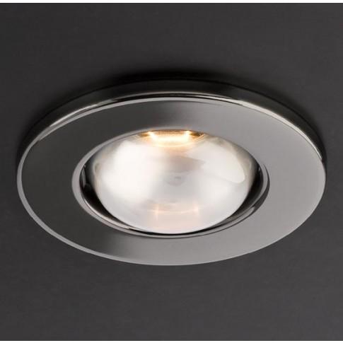 Spot incastrat FR 63 70056, E27 / R63, negru