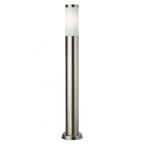 Stalp de iluminat ornamental Colonna 9017, 1 x E27, 65 cm, inox