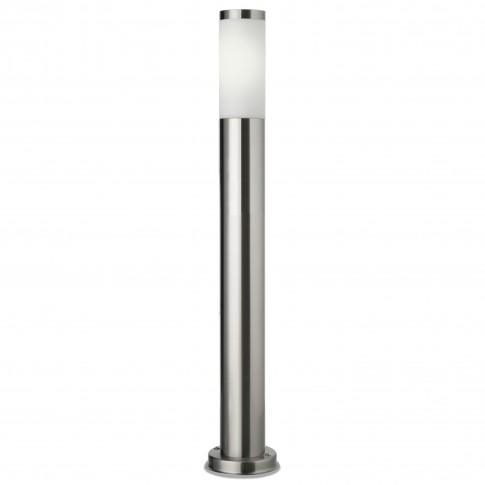 Stalp de iluminat ornamental Colonna 9017, 1 x E27, H 65 cm, inox