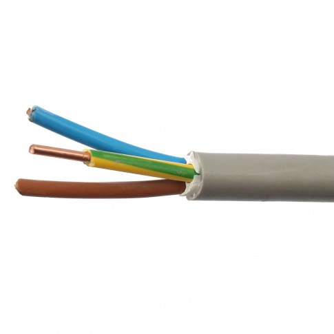 Cablu electric CYY-F 3 x 6 mmp, cupru