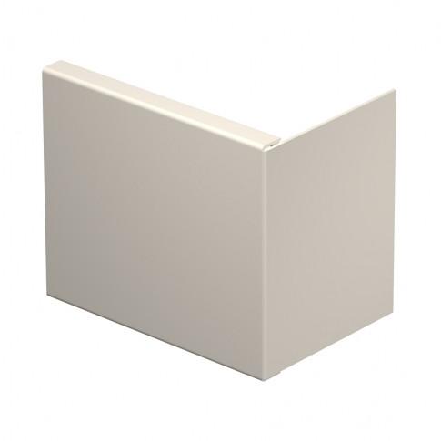 Piesa capat 6163017, 80 x 210 mm, alb crem
