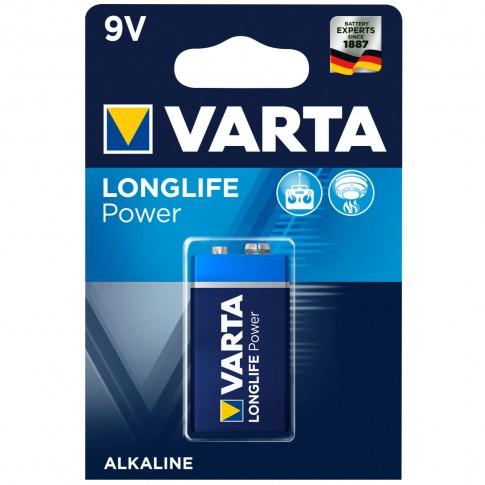 Baterie Varta Longlife Power 6LR61 / 6LP3146, 9V, alcalina