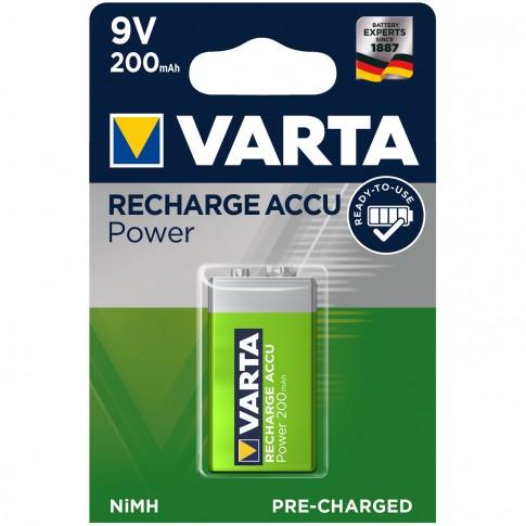 Acumulator Varta Accu Power 56722, 9V, 200 mAh