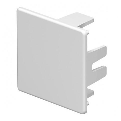 Piesa capat WDK 6193218, 40 x 40 mm, alb