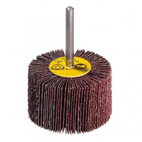 Perie abraziva, cu tija, pentru inox / metal, Klingspor KM 615, 30 x 10 x 6 mm, granulatie 120