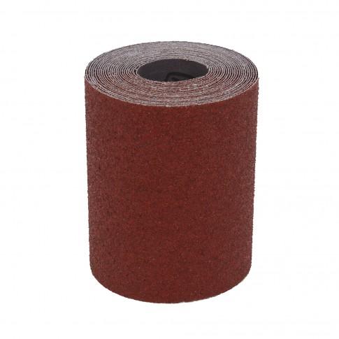 Rola panza abraziva pentru lemn, metale, constructii, Klingspor KL 382 J, granulatie 40, rola 10 m x 120 mm