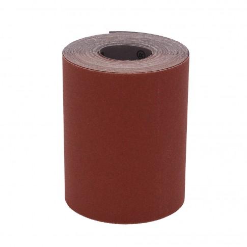 Rola panza abraziva pentru lemn, metale, constructii, Klingspor KL 382 J, granulatie 150, rola 10 m x 120 mm