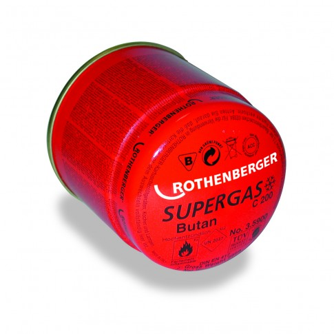 Cartus gaz, Rothenberger C200 Supergas, 190 ml