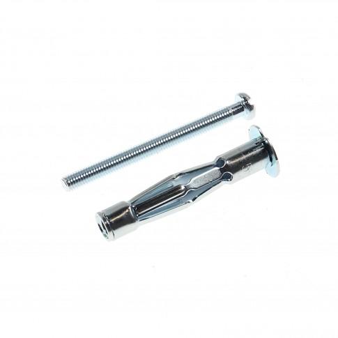Diblu metalic pentru cavitati, cu surub metric, 5 x 65 mm