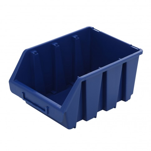 Cutie pentru depozitare, Patrol Ergobox 3, albastru, 240 x 170 x 126 mm
