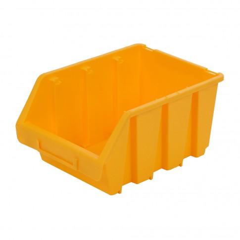 Cutie pentru depozitare, Patrol Ergobox 3, galben, 240 x 170 x 126 mm