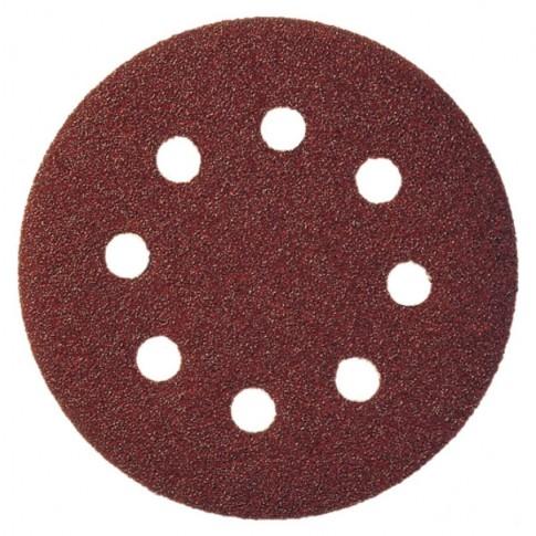 Disc cu autofixare, pentru lemn / metale, Klingspor PS 22 K, 150 mm, granulatie 180, set 5 bucati